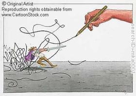 u boj olovkom