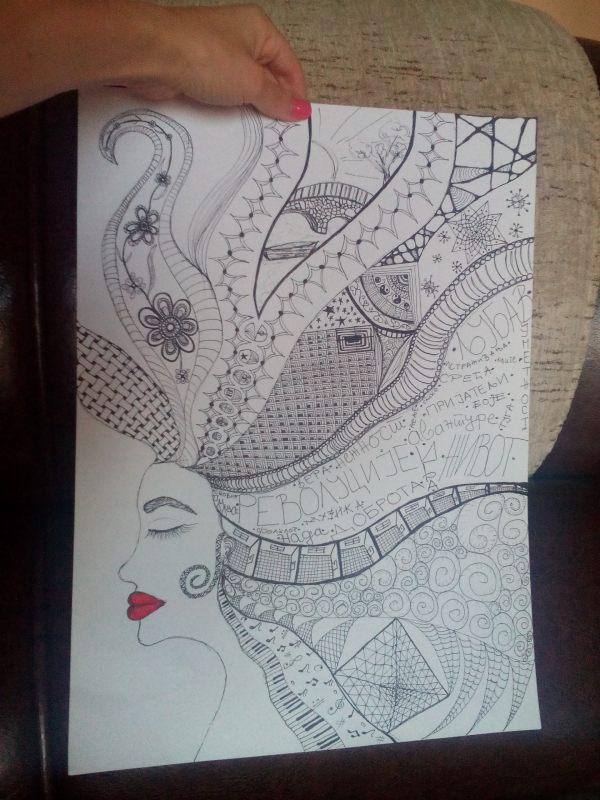 dama/crtez/profil/lice/usne/zentangle